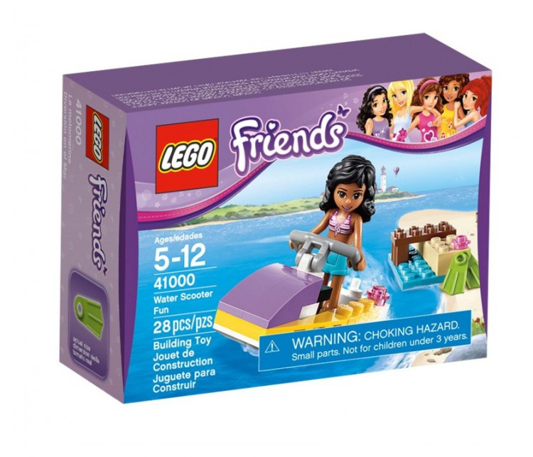 Конструктор  LEGO Friends (Френдс) 41000  «Водный мотоцикл Эммы»
